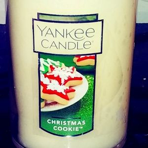 Yankee Christmas Cookie Candle New NWT